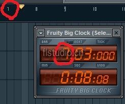 FL Studio 插件Fruity Big Clock 介绍